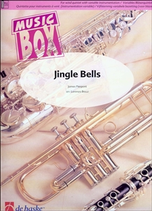 Jingle Bells for Wind Quintet (Score + Parts) NEW Enlarged Preview