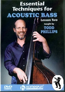 Essential Techniques for Acoustic Double Bass DVD 2 NEW Enlarged Preview