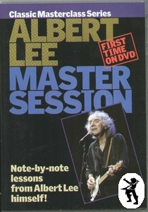 Albert Lee Master Session Electric Country Guitar DVD Enlarged Preview