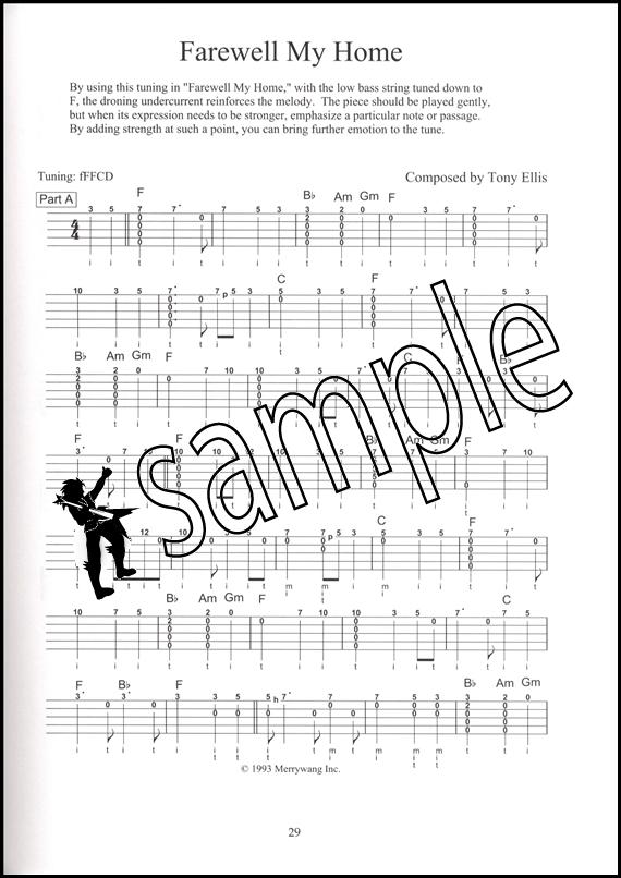 The Banjo Music of Tony Ellis 5 String Banjo Tab Music Book : eBay
