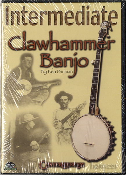 Intermediate Clawhammer Banjo Ken Perlman Learn How to Play Tuition DVD SEALED Enlarged Preview