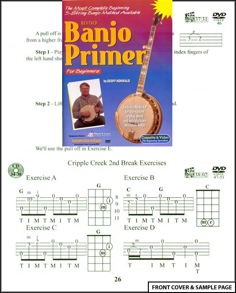 Banjo Primer for Beginners TAB Sheet Music Book NEW : eBay