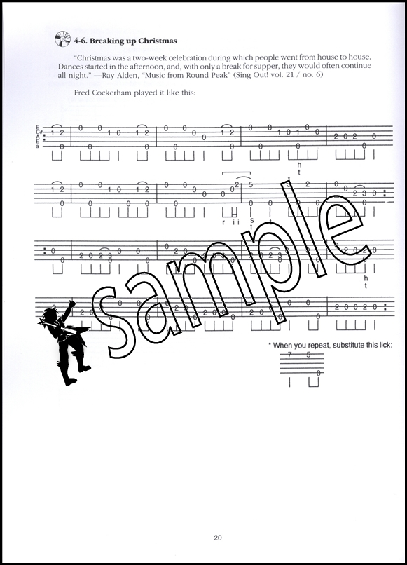 Round Peak Style Clawhammer Banjo Book/CD | Hamcor