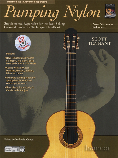 pumping nylon intermediate to advanced repertoire classical guitar music book cd ebay. Black Bedroom Furniture Sets. Home Design Ideas