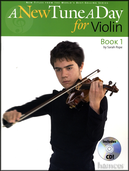 A New Tune A Day for Violin Tutor Method Book 1 +CD Enlarged Preview