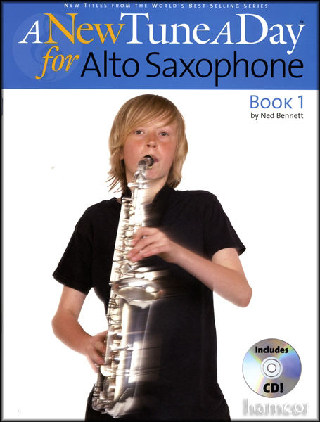 a new tune a day for alto sax saxophone book 1 with cd beginners tutor method ebay. Black Bedroom Furniture Sets. Home Design Ideas
