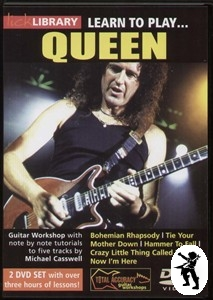 Learn to Play Queen Lick Library Guitar DVD s Brian May Enlarged Preview