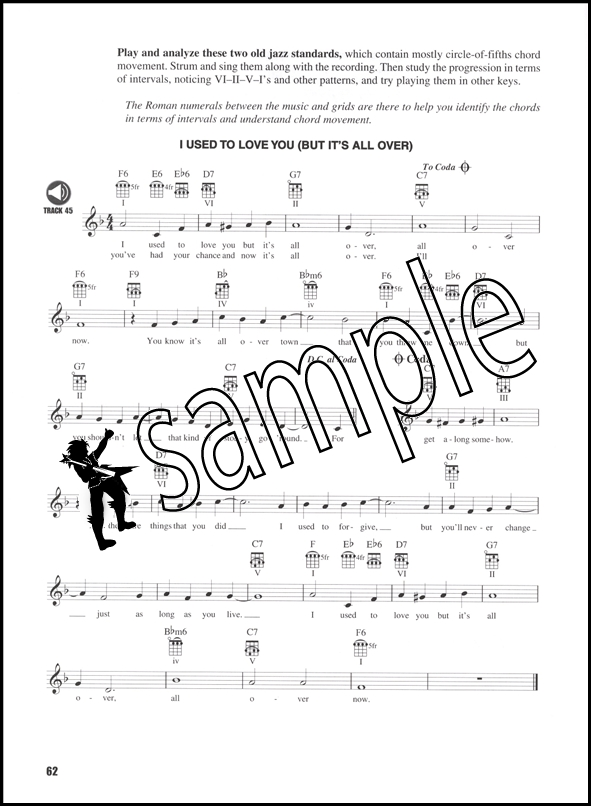 Ukulele Fretboard Roadmaps TAB Music Book/CD Essential