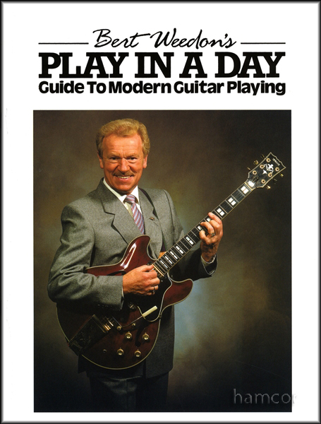Bert Weedon's Play in a Day Guitar Music Tutor Book NEW Enlarged Preview