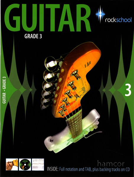 Rockschool Guitar Grade 3 2006-2012 TAB Music Book & CD incl exam entry form Enlarged Preview