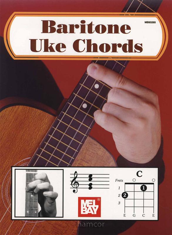 Baritone UKE Chords Ukulele Chord Book : eBay
