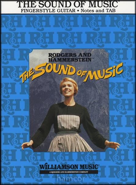 The Sound of Music for Fingerstyle Guitar TAB Music Book Rodgers Hammerstein : eBay