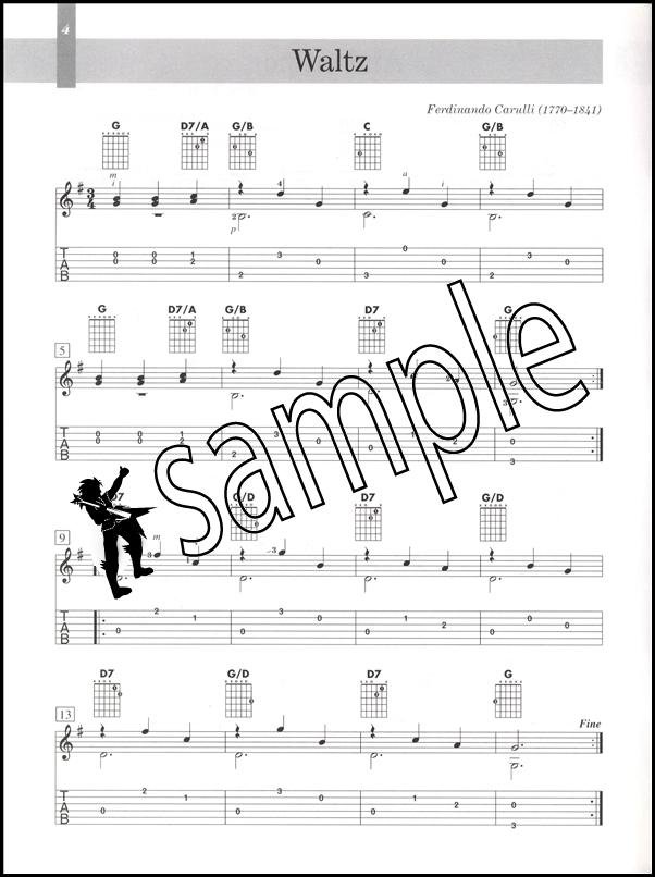 Carulli guitar study music