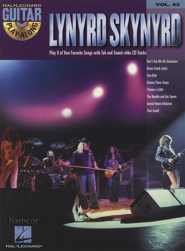 lynyrd skynyrd guitar play along tab music book backing tracks cd ebay. Black Bedroom Furniture Sets. Home Design Ideas