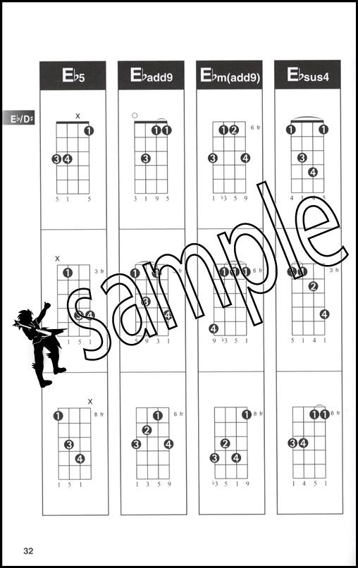 Hal Leonard Ukulele Chord Finder A5 Edition Chord Book Encyclopedia