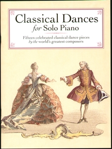 Classical Dances for Solo Piano Sheet Music Book NEW Enlarged Preview