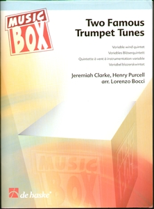 Two Famous Trumpet Tunes for Variable Wind Quintet Enlarged Preview