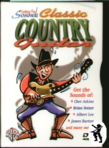 Classic Country Guitar: Get the Sounds of Tuition DVD Enlarged Preview