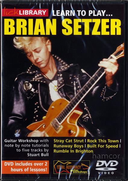 Lick Library Brian Setzer