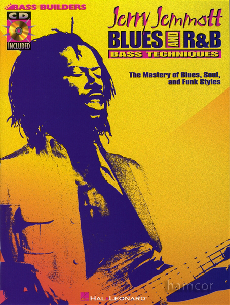 Jerry Jemmott Blues and R&B Bass Guitar Techniques TAB Book & CD Blues Soul Funk Enlarged Preview