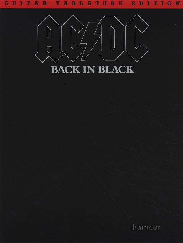 /AC/DC Back in Black Guitar TAB Edition : Hamcor
