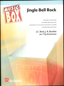 Jingle Bell Rock for Variable Wind Quintet Score+Parts Enlarged Preview