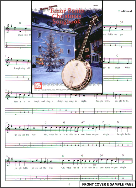 Tenor Banjo Christmas Songbook TAB Sheet Music NEW : eBay