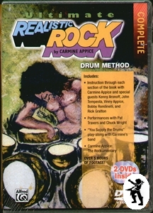 Carmine Appice Ultimate Realistic Rock Complete DVDs Enlarged Preview