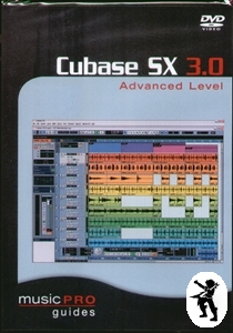 Cubase SX 3.0 Advanced Level Music Pro Guide DVD Enlarged Preview