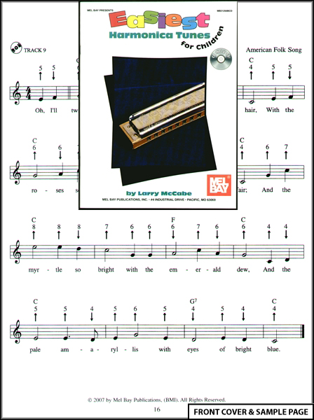 Easiest Harmonica Tunes for Children Sheet Music CD : eBay
