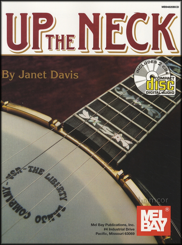 Up The Neck Janet Davis 5-String Banjo TAB Music Book/2CDs : eBay
