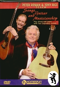 Peter Rowan + Tony Rice Songs Guitar & Musicianship DVD Enlarged Preview