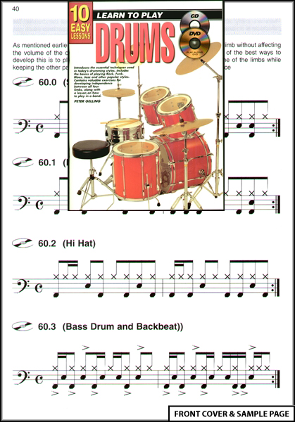 how to read drum pro tabs