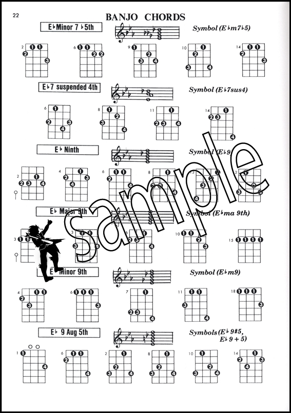 Banjo Chord Encyclopedia 5-String u0026 Plectrum Cu0026G Tunings : Hamcor