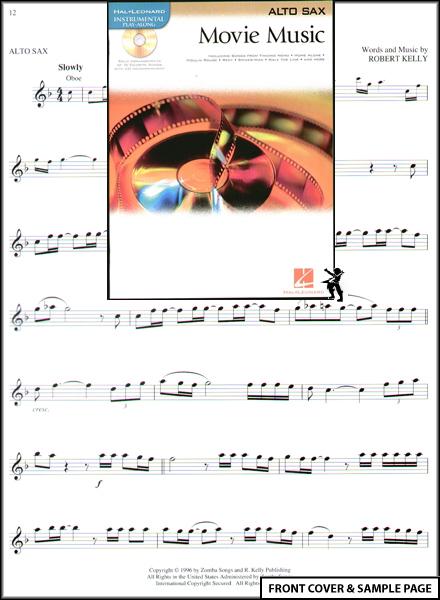 Movie Music for Alto Sax Sheet Music Book +CD NEW : eBay