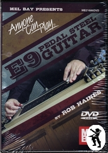 Anyone Can Play E9 Pedal Steel Guitar Learn How to DVD Enlarged Preview