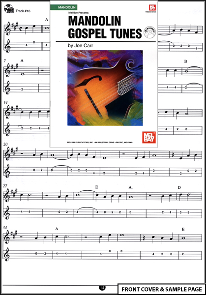 Mandolin Gospel Tunes TAB Book CD NEW : eBay