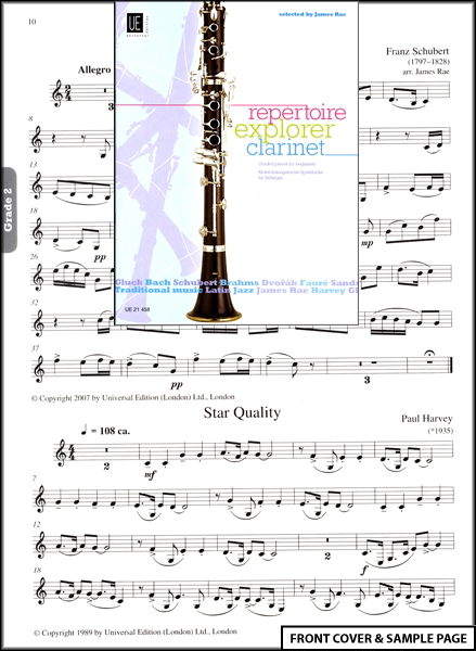 sheet music/ song books music/ song books woodwind item