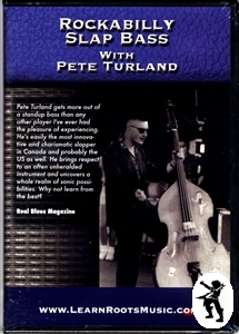 Rockabilly Slap Bass Pete Turland Double Bass DVD NEW Enlarged Preview