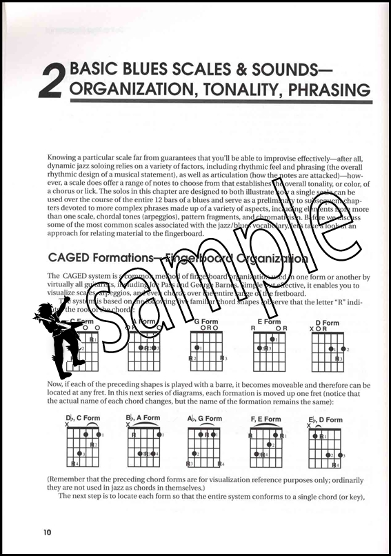 All Blues Soloing for Jazz Guitar TAB Music Book/CD Scales Licks ...