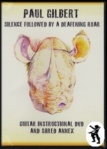 Paul Gilbert Silence Followed Deafening Roar Guitar DVD Enlarged Preview