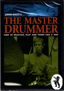 John Riley The Master Drummer Drum Tuition DVD NEW Enlarged Preview