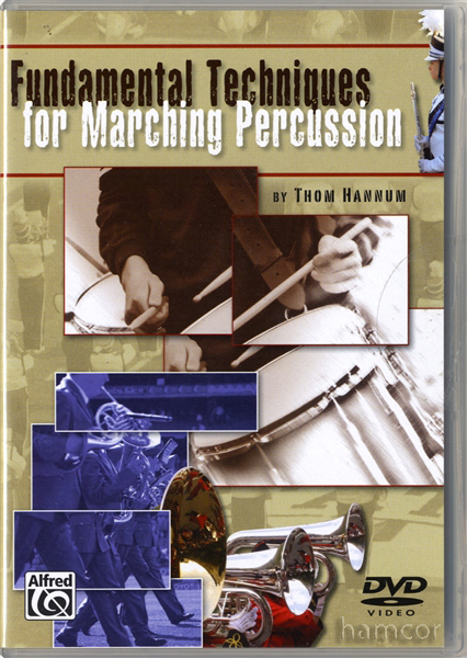 Fundamental Techniques for Marching Percussion Drum Instruction DVD Enlarged Preview