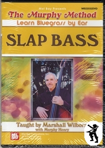 Slap Bass Marshall Wilborn Double Bass Tuition DVD NEW Enlarged Preview
