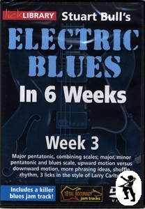 Stuart Bull's Electric Blues Guitar in 6 Weeks DVD 3 Enlarged Preview