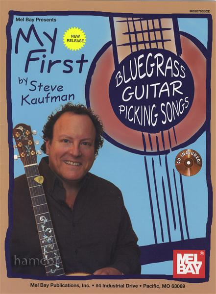 my first bluegrass guitar picking songs tab music book cd steve kaufman ebay. Black Bedroom Furniture Sets. Home Design Ideas