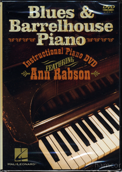 Blues & Barrelhouse Piano Learn to Play Tuition DVD Enlarged Preview
