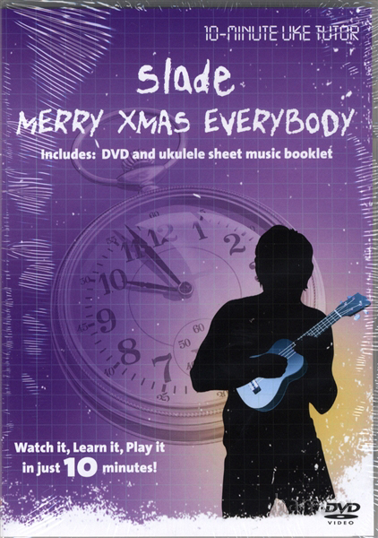 Slade Merry Christmas Everybody Ukulele Tuition DVD Enlarged Preview