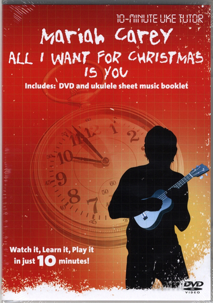 All I Want for Christmas is You Ukulele Tuition DVD