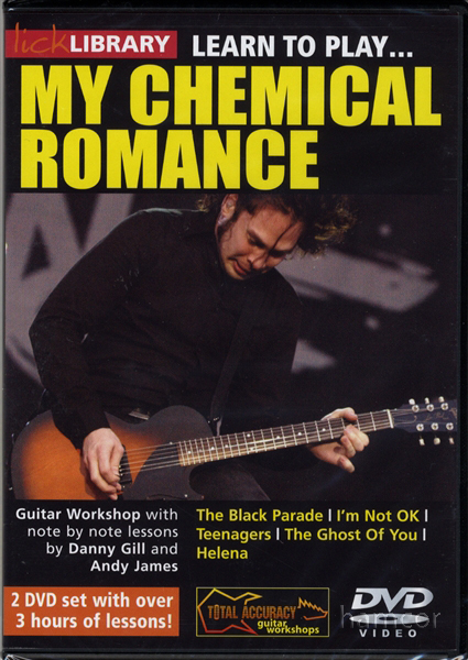 my chemical romance guitar pro tab: